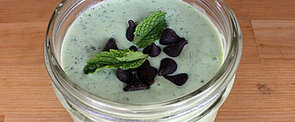 A Protein-Rich, Celebrity-Approved Mint Chip Smoothie