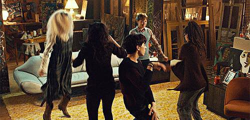 Best Dance Scene With Four Clones: Tatiana Maslany, Orphan Black