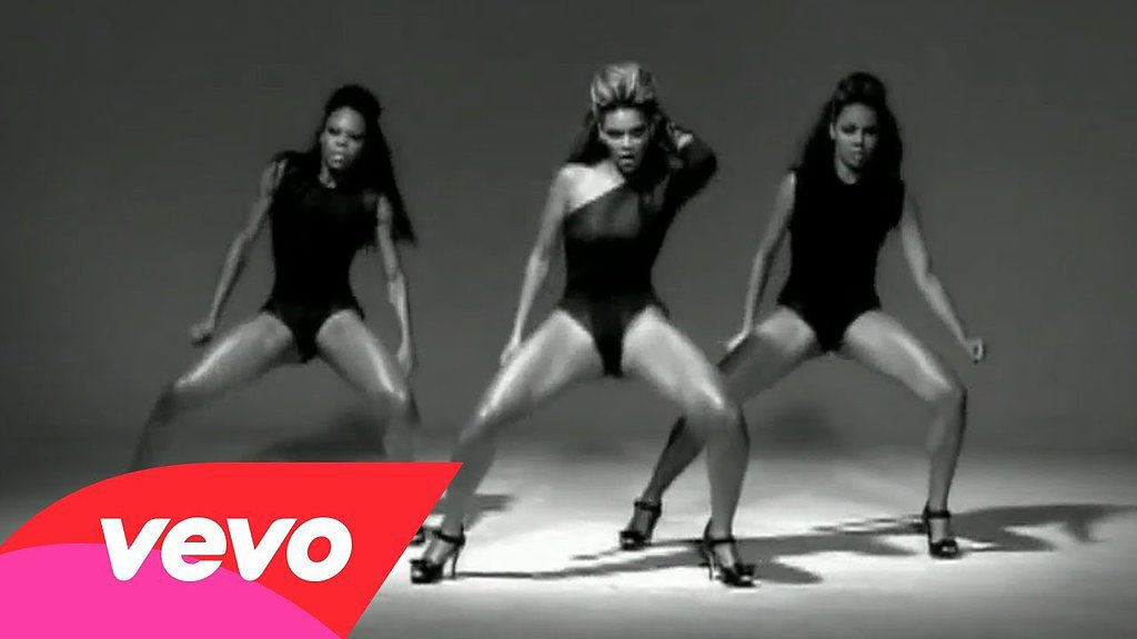"""Beyoncé in Tina Knowles for the """"Single Ladies"""" video (2008)"""