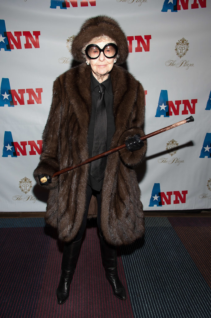 Elaine Stritch at the Opening Night of Ann