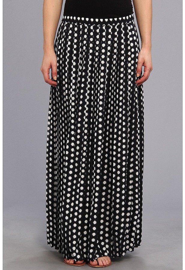 Michael Kors Polka Dot Maxi Skirt