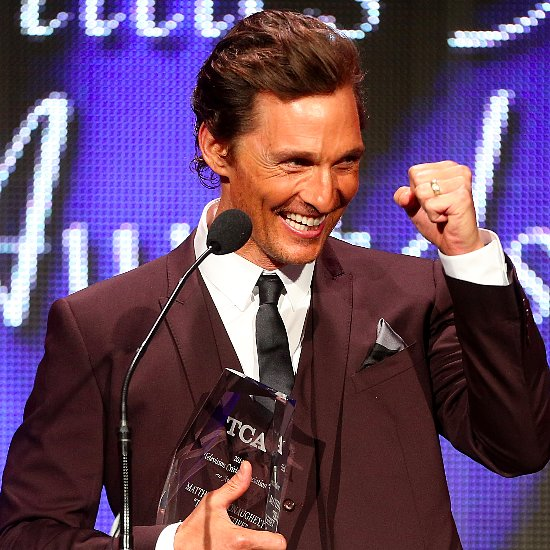 Matthew McConaughey at the TCA Awards 2014 | Pictures