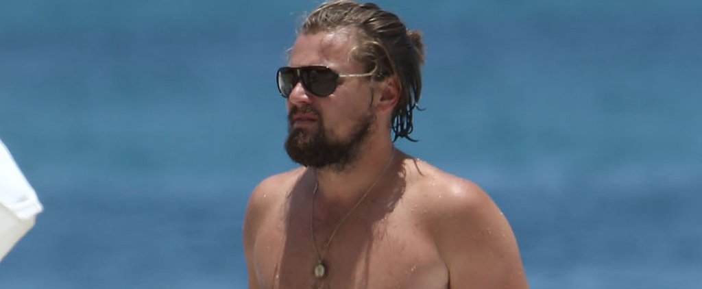 Leonardo DiCaprio Goes Shirtless in Miami