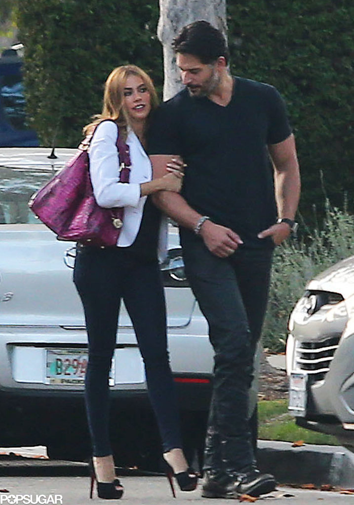 Sofia Vergara And Joe Manganiello Hold Hands Pictures