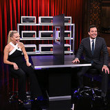 Watch Jimmy Fallon Lie Straight to Kate Hudson's Face