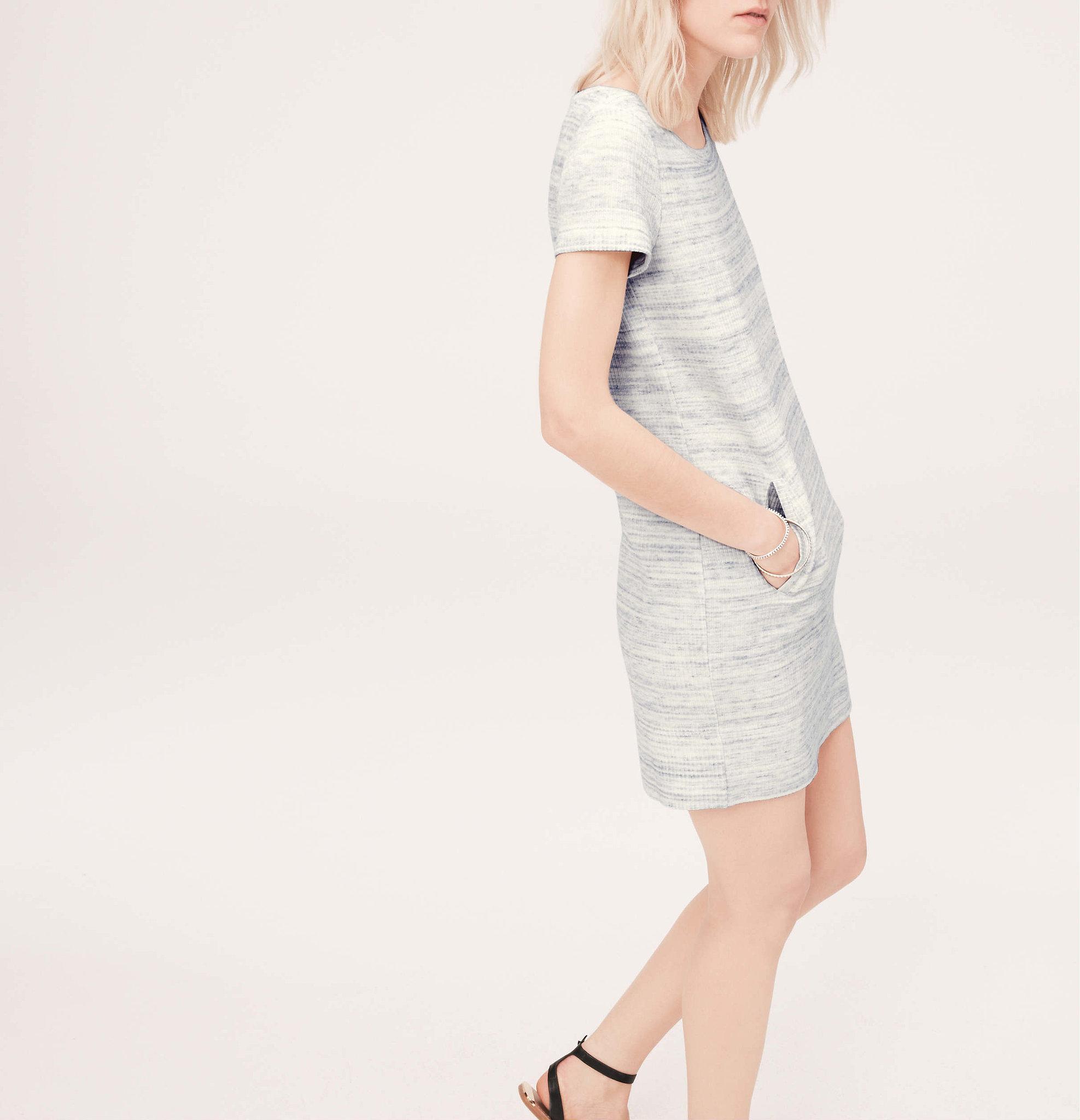 Lou & Grey Zip Pocket Spacedye Dress