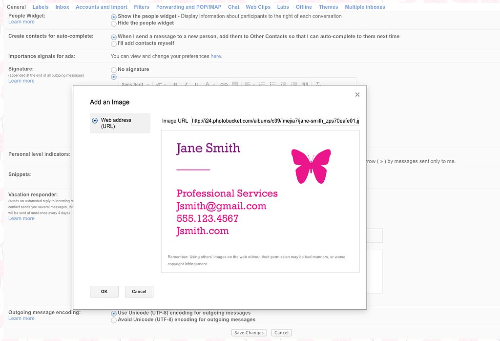 Step 4: Click on the Photo Icon and Insert Your Image URL