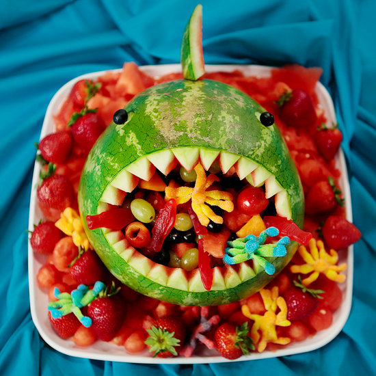 Watermelon Shark Fruit Salad Recipe
