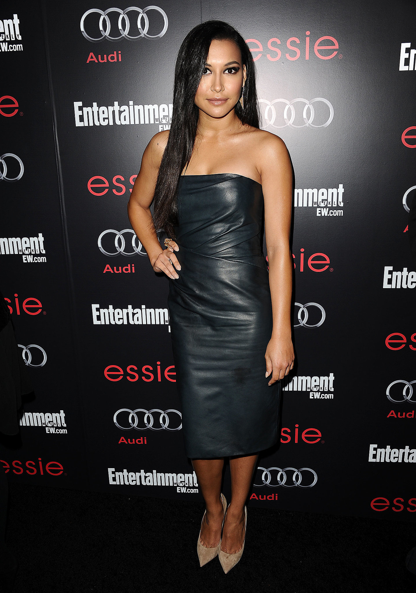 When She Wore a Leather Tube Dress to Chateau Marmont