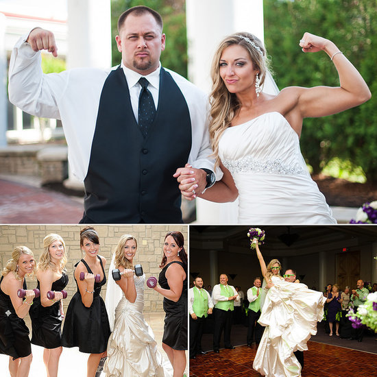 The Dream Wedding For the Couple That Eats, Sleeps, and Breathes Fitness