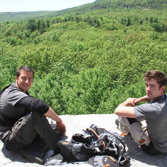 Zac Efron With Bear Grylls | Video
