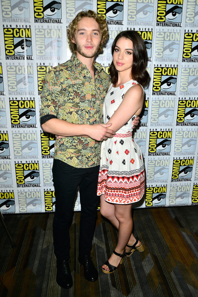 Reign's Adelaide Kane and Toby Regbo stayed close on Thursday.