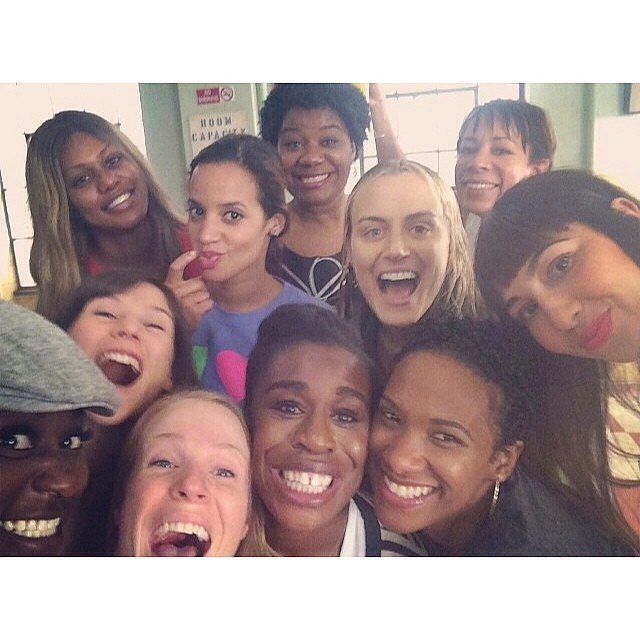 Is there anything better than an OITNB group selfie?