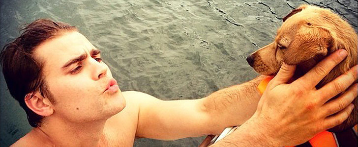 The Vampire Diaries Stars Celebrate Summer With Puppies and Bikinis