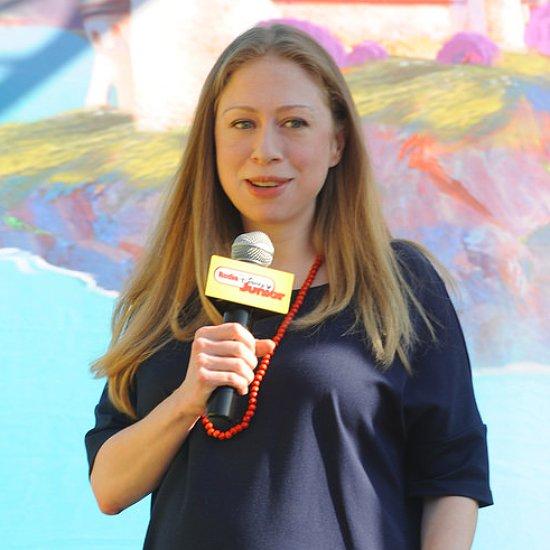 Pregnant Chelsea Clinton Talks Community Service With Disney