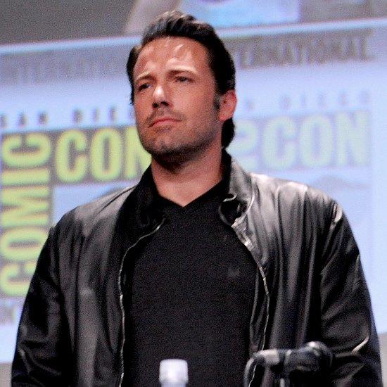 Ben Affleck at Comic-Con For Batman v Superman