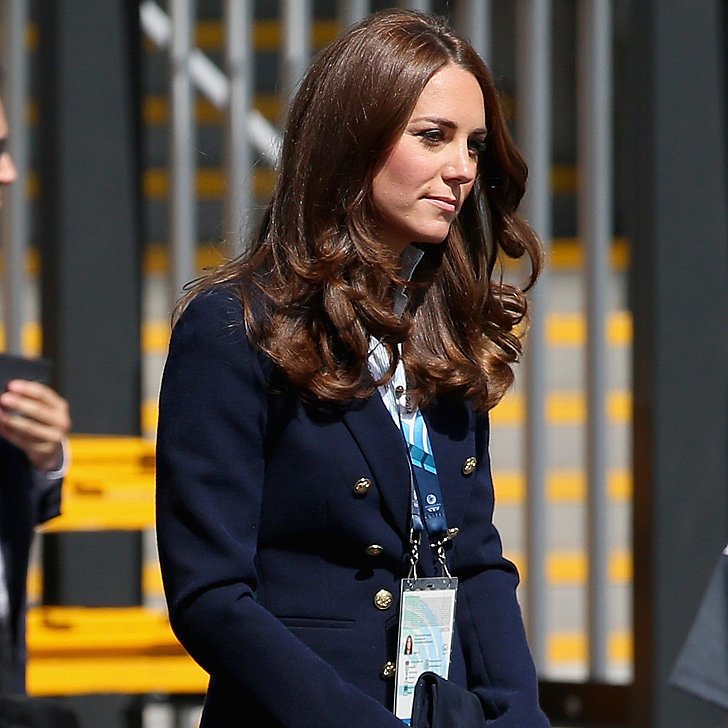 Kate Middleton in Stuart Weitzman Corkswoon Wedges