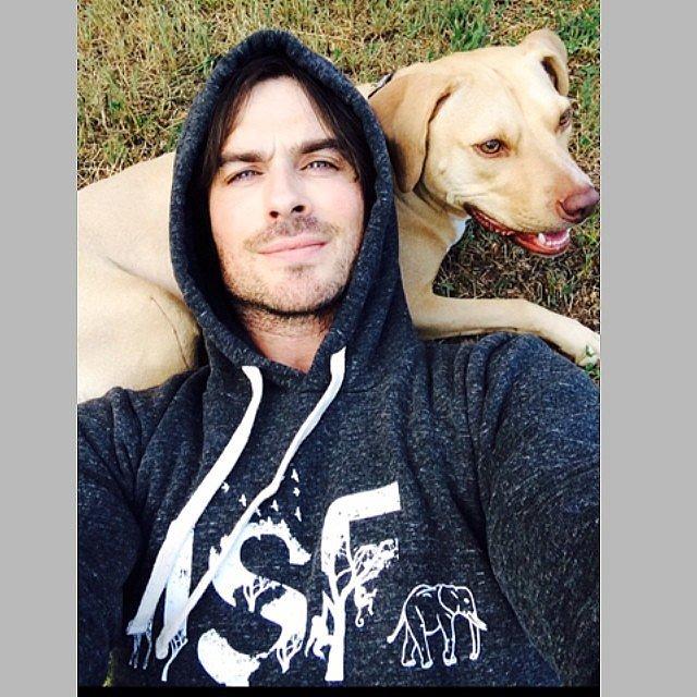 The Dog-Lover Selfie