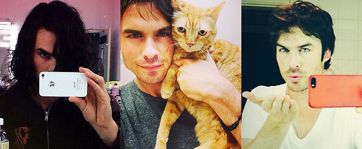 Ian Somerhalder Masters 41 Different Kinds of Selfies