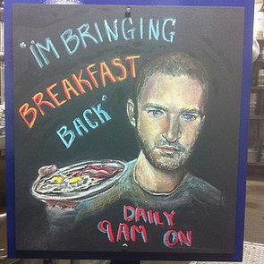 "Justin Timberlake: ""I'm Bringing Breakfast Back"" | Photo"