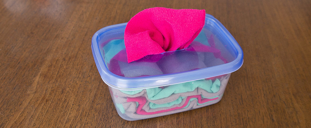 So Smart! DIY Pop-Up Cleaning Wipes