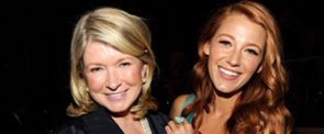 """Martha Stewart on Blake Lively's New Lifestyle Site: """"Let Her Try"""""""