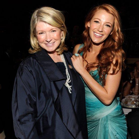 Martha Stewart Interview Blake Lively Friendship And Website