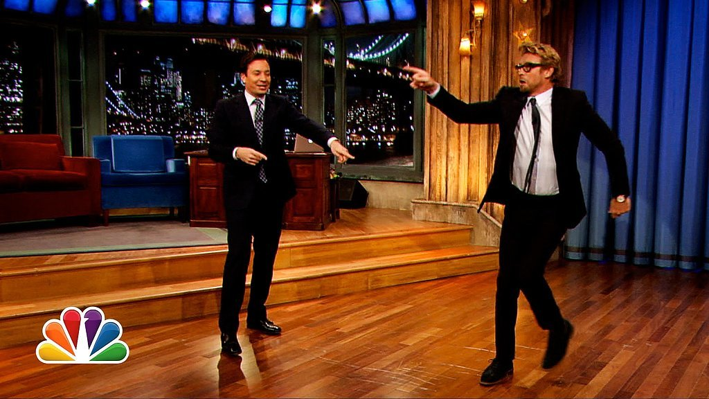 Let's end on a high note: here's a hilarious video of Simon doing his best Mick Jagger impression with Jimmy Fallon.