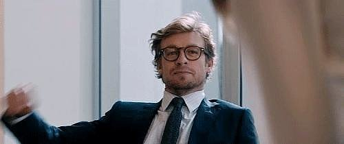 Simon Baker running his hand through his hair is not something we were mentally prepared for, but here it is.