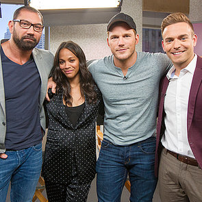 Guardians of the Galaxy Cast Full Interview with Zoe Saldana