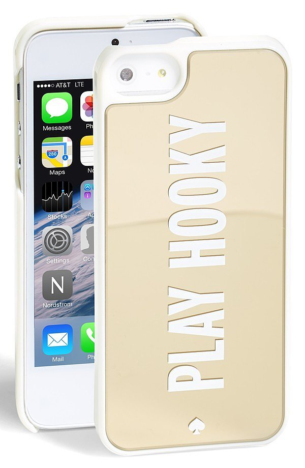 Kate Spade Play Hooky iPhone 5 Case