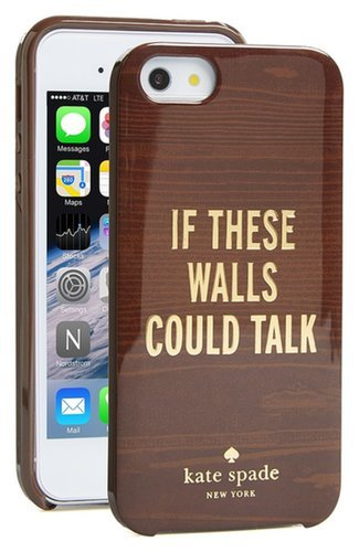Kate Spade If These Walls Could Talk iPhone 5 Case