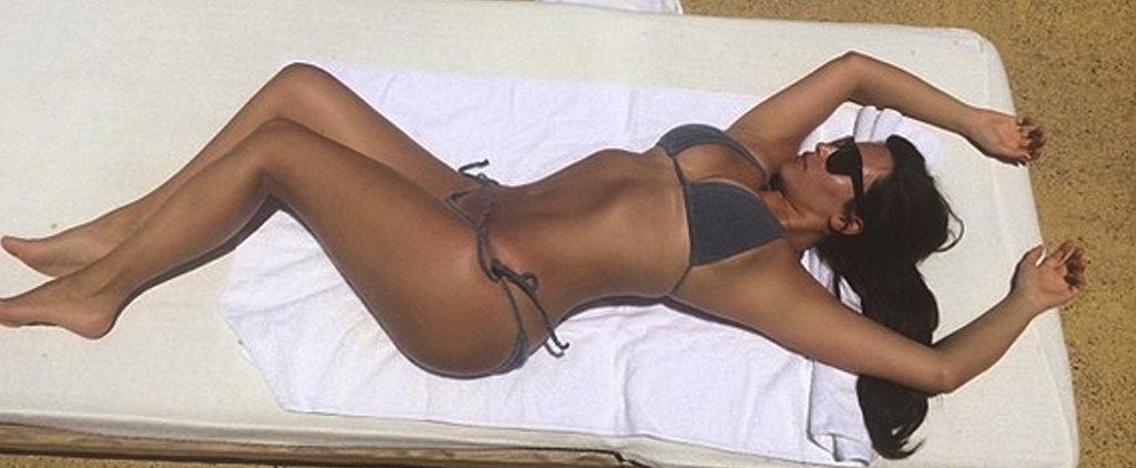 Kim Kardashian's 5 Sexiest Bikini Selfies!