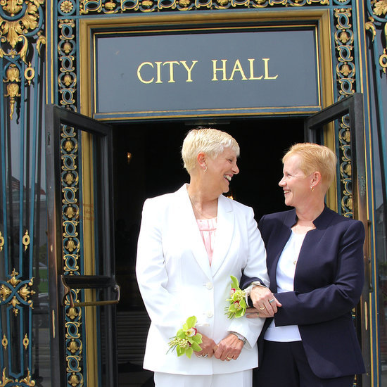 Barbara and Debbie's City Hall Wedding Will Have You Tearing Up