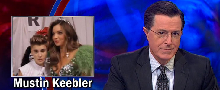 You'll Crack Up at Colbert's Take on Justin Bieber vs. Orlando Bloom