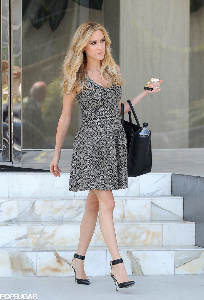 Kristin Cavallari made a picture-perfect exit in LA on Friday.