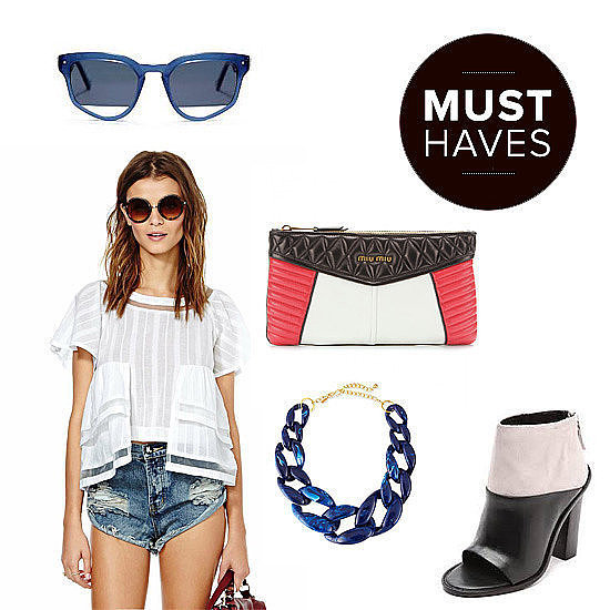 What's on our end-of-Summer shopping list? A healthy mix of pieces to keep cool — a swimsuit from a just-discovered designer — and accessories to help with the transition to Fall, like open-toe booties and slogan sweatshirts. Let POPSUGAR Fashion help you find all the pieces worthy of a spot in your closet.