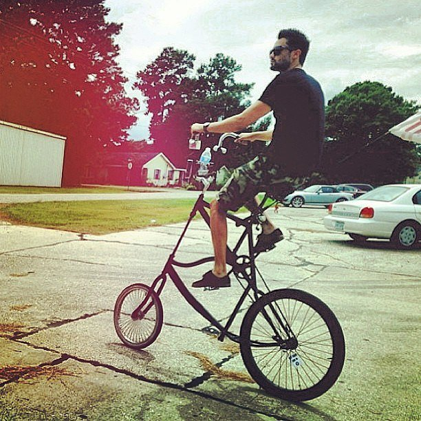 A Ridiculously Cool Bike Photo