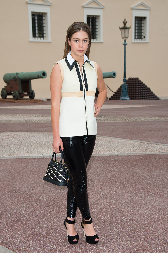 Adèle Exarchopoulos Carrying Louis Vuitton