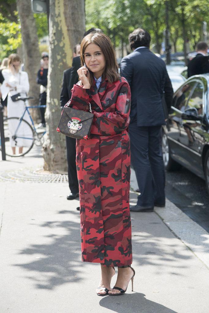 Miroslava Duma Carrying Louis Vuitton