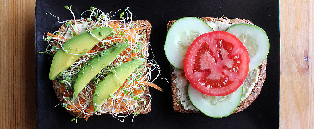 A Crave-Worthy Hoummus and Veggie Sandwich