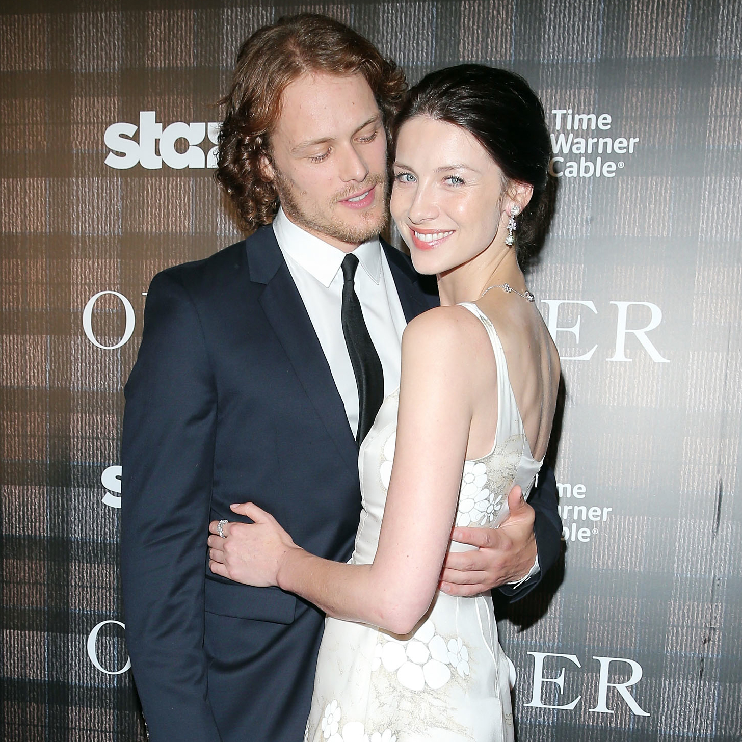 Outlander's Sam Heughan & Caitriona Balfe Are Not Dating!: Photo ...