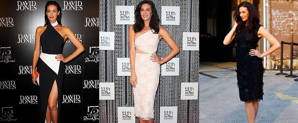 Megan Gale Knows How to Work a Red Carpet