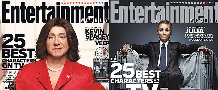 This Julia Louis-Dreyfus/Kevin Spacey Character Swap Will Blow Your Mind