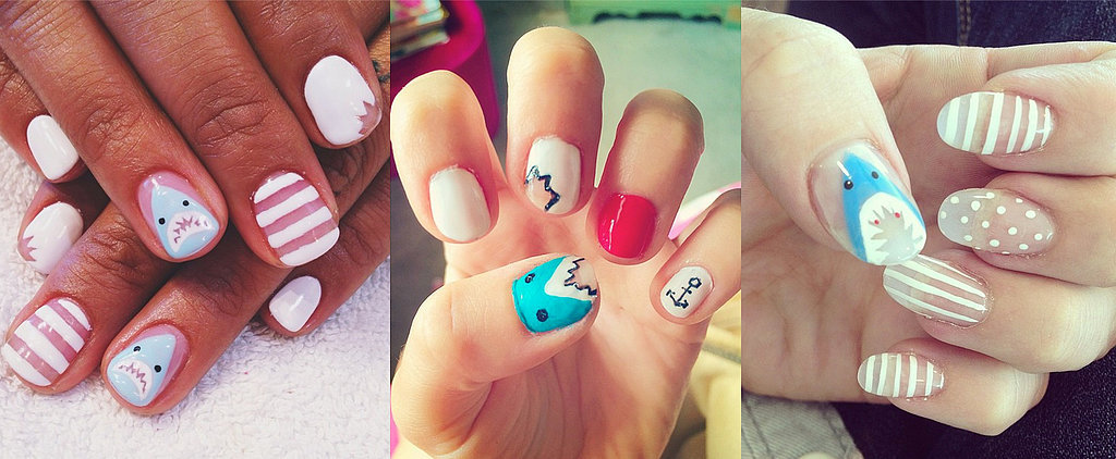 10 Terrifyingly Cool Shark Week Nail Art Looks