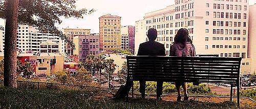 It makes downtown LA look romantic and beautiful.
