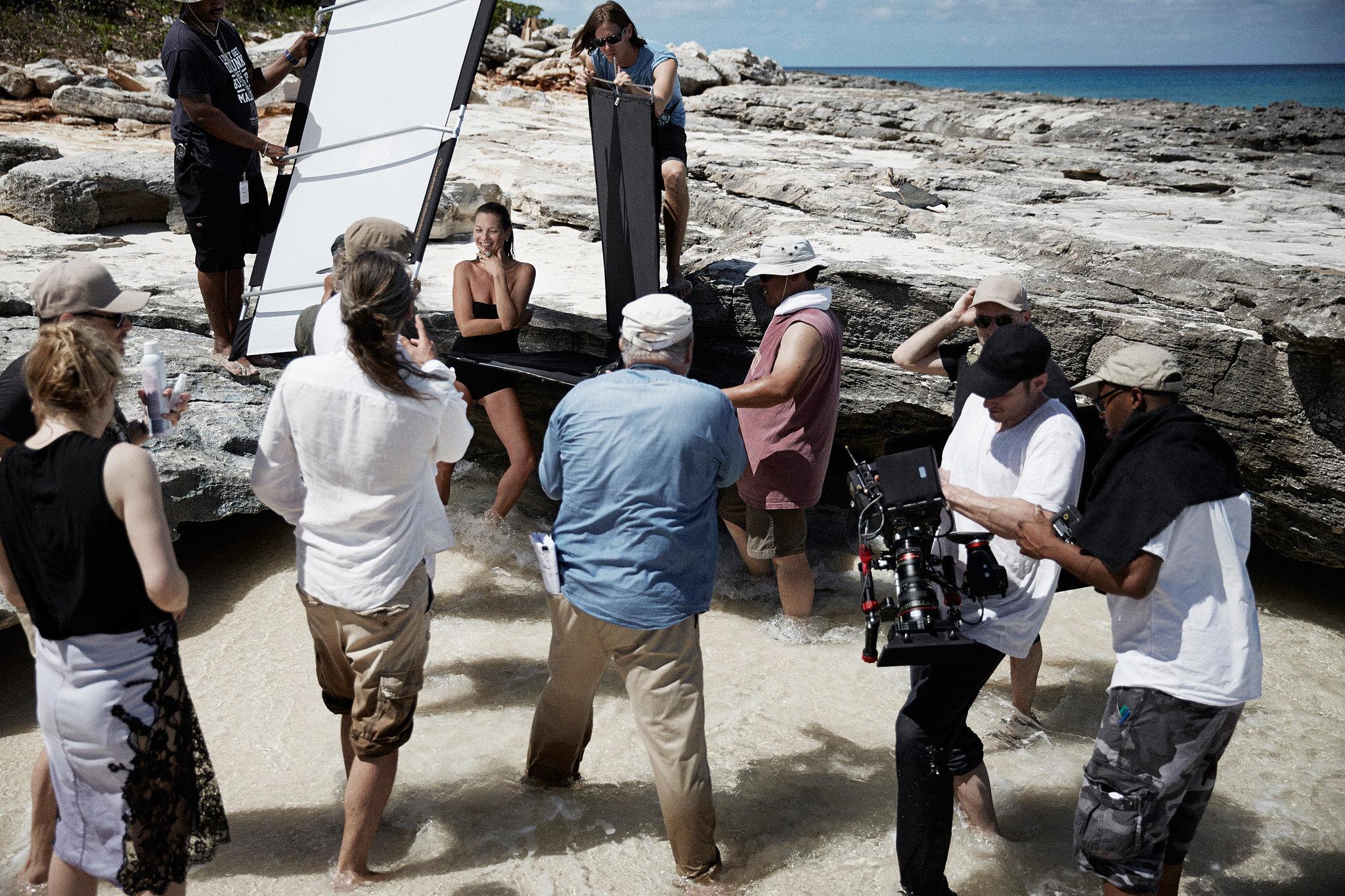 Behind the Scenes at Kate Moss's David Yurman Photo Shoot