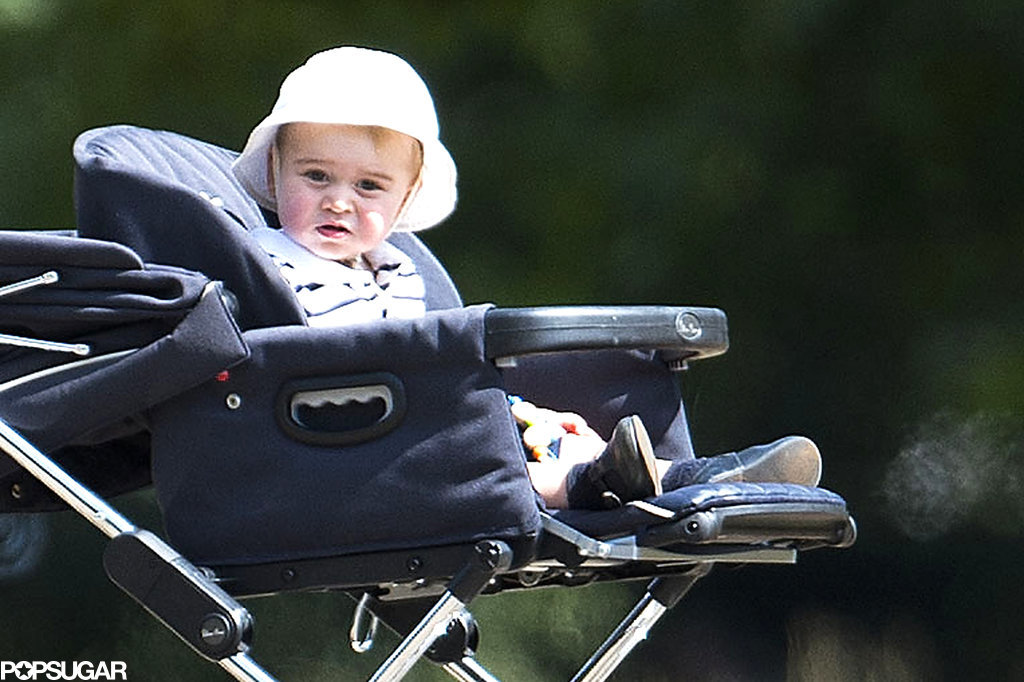Prince George Couldn't Be Cuter During His Park Day With Kate
