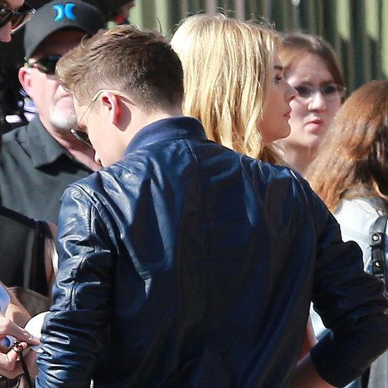 Chloe Moretz and Brooklyn Beckham at the Teen Choice Awards