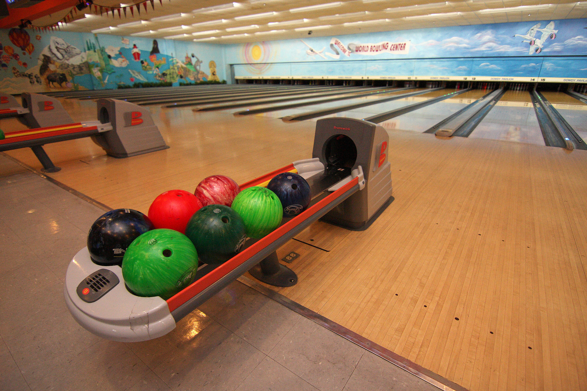 Get a Strike at the Bowling Alley